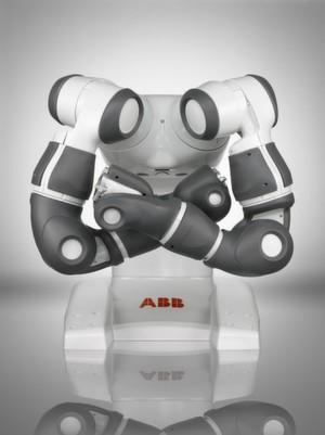 You and Me: Der zweiarmige Roboter verspricht neue Fortschritte bei der Sicherheit in der Mensch-Maschine-Kollaboration.