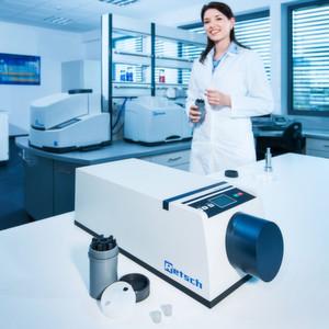 Mühle für die Probenvorbereitung zur Röntgendiffraktometrie