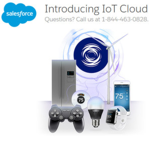 Salesforce kündigt IoT Cloud an