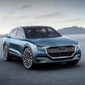 Noch ein Tesla-Jäger – der Audi e-tron quattro concept