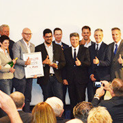 ISA-Siegerehrung im Rahmen der Frankfurter IAA.