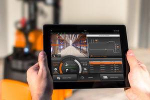 Die App Still iGoEasy ermöglicht als erste Applikation die Steuerung eines autonomen Lagertechnikgeräts mit einem iPad.