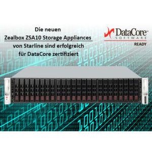 Zealbox Storage-Appliances erhalten Datacore-Zertifizierung