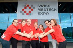Das Team der Messe Luzern ist mit dem Verlauf der 1. Swiss Medtech Expo zufrieden.