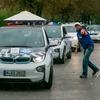 235 E-Fahrzeuge demonstrierten im Rahmen Deutschlands größter E-Rallye Vielseitigkeit