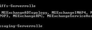 Installation in der Exchange Management Shell überprüfen