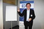 Einer der gefragtesten Redner: Energie-Experte Staffan Reveman. Er widmete sich in seinem Technology Outlook der Frage, ob die Energiewende Traum oder Trauma für die IT-Stromversorgung ist.