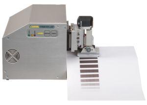 Thermodruck: Wie verhält sich unterschiedlich dickes Thermopapier während des Drucks bei verschiedenen Bedingungen?