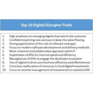 """Die """"Digital Disrupters"""" verfügen über einige vorteilhafte Eigenschaften."""