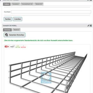 Weitere CAD-Daten von Kabelverschraubungen und Kabelkanälen online