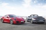 Zwei Karosserie-Varianten: Auch den neuen Porsche 911 Carrera gibt es als Coupé und Cabriolet.