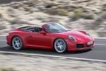 Porsche bricht mit einer Tradition: Künftig fährt der 911er nicht mehr mit Saugmotor. Vielmehr wird er von einem 3,0-Liter-Sechszylinder-Turbo-Boxer befeuert.