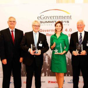 eGovernment-Macher des Jahres ausgezeichnet