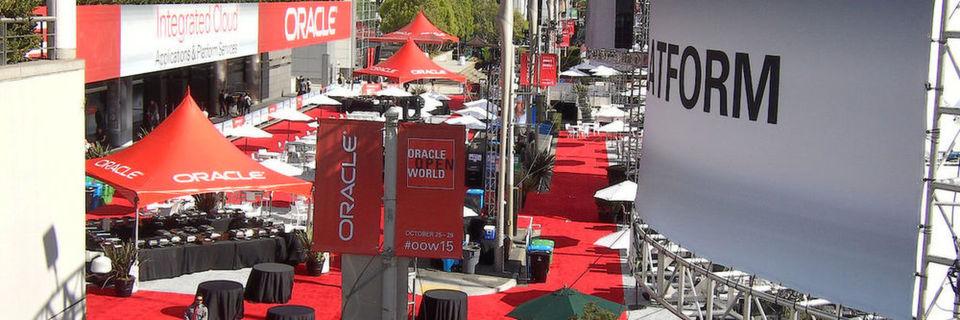 Die diesjährige Oracle Workd fand vom 25. bis zum 29. Oktober in San Franzisko statt. Bei 60.000 Besuchern färbt sich die Innenstadt in Oracle-Rot.