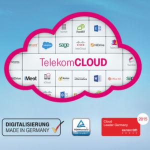 TelekomCLOUD bündelt Unternehmensangebote