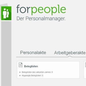 Forcont stellt neue elektronische Arbeitgeberakte vor
