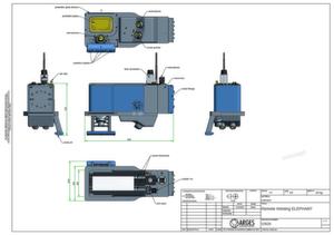 Im Bereich Laserschweißen stellt die Arges GmbH den Remote Welding Elephant auf der Lasys 2008 vor.