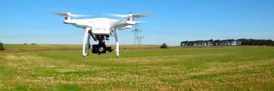 Drohnen in der Landwirtschaft: eine Entwicklung mit hohem Potential.