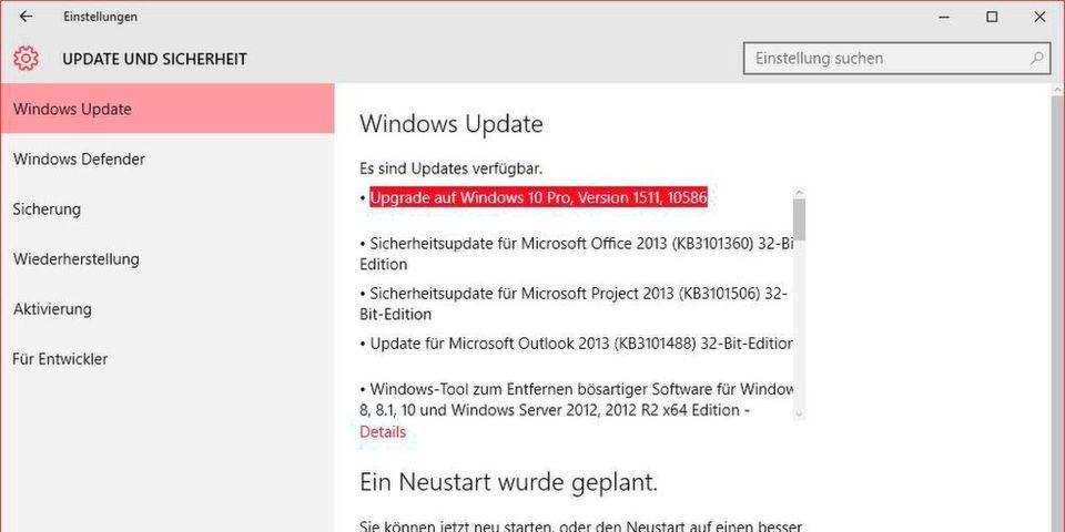 Das November-Update von Windows 10 auf die Version 1511 bringt auch für Business-Kunden einige Verbesserungen.