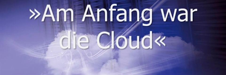 """Keynote von Prof. Dr. Gunter Dueck """"Am Anfang war die Cloud""""."""