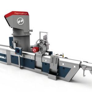 Neues Anlagensystem fürs Recycling von Kunststoff-Mahlgut