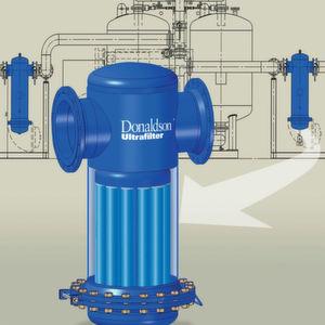 Effizientes Filtern von großen Druckluft- und Gasvolumenströmen