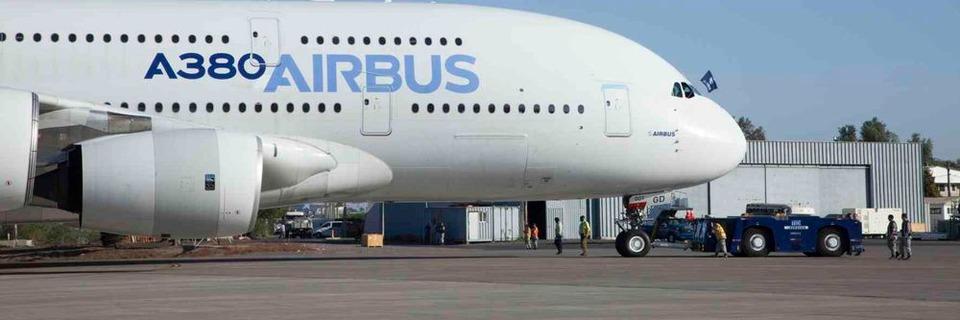 Piezos mit dem A380 auf Tour