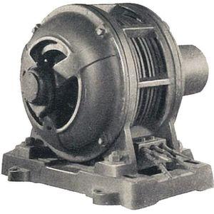 Mit der Antriebstechnik hat alles begonnen und sie ist nach wie vor das, was Yaskawa antreibt (im Bild: 3-Phasen-Asynchronmotor von 1917).