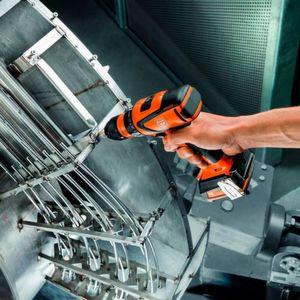 12-Volt-Akku-Schrauber für die Metallbearbeitung