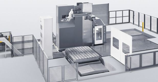 XXL milling machines matter again in tool and mould making