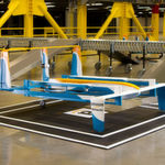 Einsatzbereit: Das neu vorgestellte Drohnenkonzept für Amazon Prime Air soll automatisch mit kleinen Paketen beladen werden, die innerhalb von 30 Minuten Lieferungen auch an weiter entfernte Kunden ausgeliefert werden.