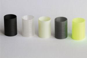 Verfügbare Kunststoffe für den 3D-Druck