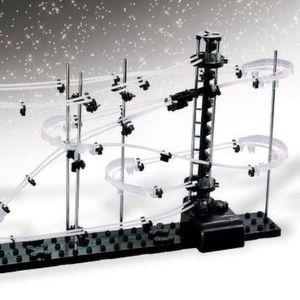 Die Murmel-Achterbahn Space Coaster macht immer wieder Spaß und fördert die Kreativität.