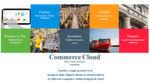 Alle Komponenten der CommerceCloud sind in Infor ERP sichtbar.