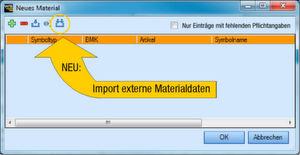 """Mit der neuen Schaltfläche """"Import externe Daten"""" können Daten von fremden E-CAD-Systemen in WSCAD eingelesen und weiter verarbeitet werden."""