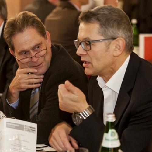 Impressionen von der Abendveranstaltung der Förderprozess-Foren 2015 in Würzburg.