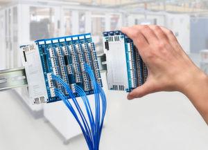 Die kompakte I/O-Plattform von Eaton soll platzsparend montiert und einfach installiert werden können.