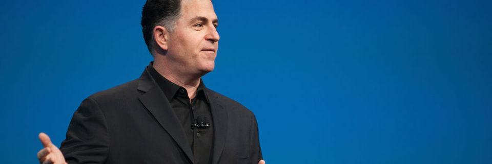 Als ein privates, nicht (mehr) börsennotiertes Unternehmen könne sich Dell durchaus leisten, Strategien zu verfolgen, die sich auf das Geschäftsergebnis nicht unmittelbar in einem Quartal auswirken müssten, betont Michael Dell, Chef des texanischen Unternehmens.