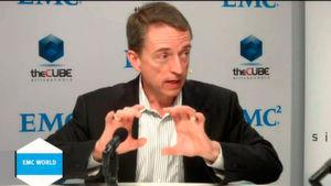 Patrick_Gelsinger, CEO von VMware, auf der EMC World 2015 in Las Vegas