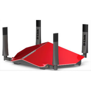DIR-885L: Dank MU-MIMO soll der D-Link-Router DIR-885L den Datendurchsatz auch bei vielen Netzclients zwei- bis dreimal erhöhen.
