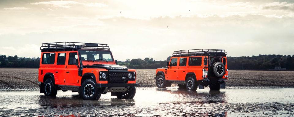 Sein Produktionsende werden viele Fans bedauern: Der Land Rover Defender geht nach 68 Jahren in Rente.