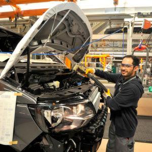 Das VW-Nutzfahrzeugwerk Hannover wird derzeit umgebaut.