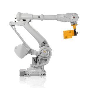 Der neue Schwerlastroboter IRB 8700 von ABB realisiert eine große Reichweite, hohe Handhabungskapazität, nachhaltige Performance bei gleichzeitig guter Wirtschaftlichkeit für den Anwender.