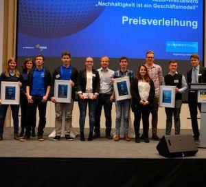 Die Preisverleihung fand auf der vom VDMA veranstalteten Nachhaltigkeitskonferenz im neuen Auditorium der Alfred Kärcher GmbH & Co. KG in Winnenden statt.