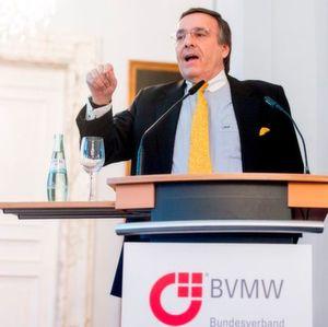 """Mario Ohoven, Präsident des Bundesverbandes mittelständische Wirtschaft (BVMW): """"Der Mittelstand ist auch 2016 Garant für Wachstum und Beschäftigung in Deutschland."""""""