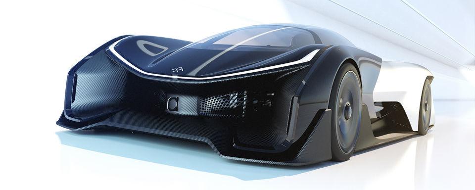 Faraday Future hat auf der CES in Las Vegas die Studie FFZero1 vorgestellt.