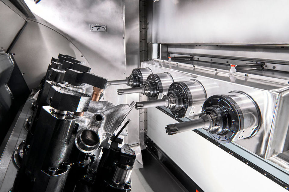 Die Spindeln für Vigils Mehrspindel-Maschinen sollen sich schnell und einfach wechseln lassen und trotzdem die hohen Zuverlässigkeits- und Qualitätsstandards des Unternehmens einhalten können.