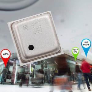 Der Sensorbaustein BME680 von Bosch Sensortec ermittelt Werte wie die Umgebungstemperatur sowie Luftdruck, -feuchtigkeit und -qualität.