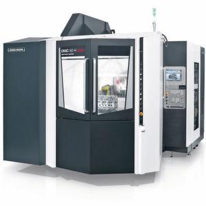 Die DMC-H-linear-Maschinen sind die ausgesprochenen Sprintstars mit hoher Dynamik sowohl als Universalmaschine als auch in hochproduktiver Vier-Achs-Ausführung für die Automobilindustrie.
