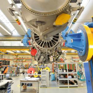 Bei der Schruppbearbeitung für das militärische Propellerturbinen-Triebwerk TP400-D6 setzt die MTU Aero Engines auf Haimer Safe-Lock. MTU ist beim TP400-D6 für den Mitteldruckverdichter, die Mitteldruckturbine und -welle verantwortlich sowie an der Regelung beteiligt.